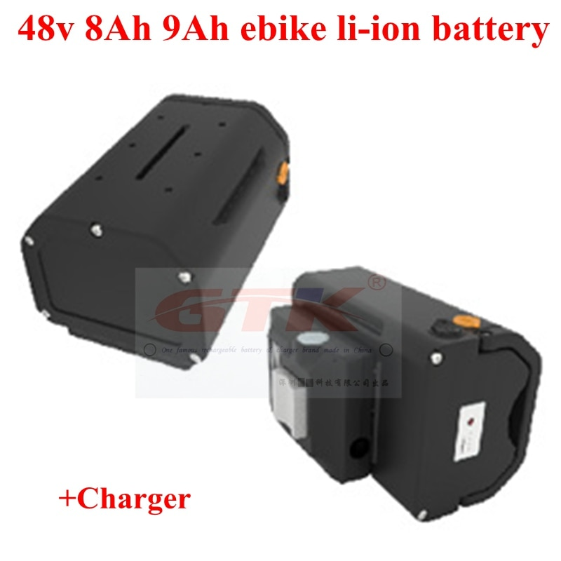 48v 8Ah electric bike li-ion 48v 9Ah ebike lithium battery JENNY BAG case for bbs motor 500w 750w 1000w + 3A charger