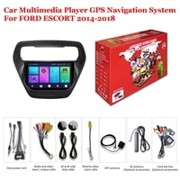 for ford escort 2014 2018 accessories car android multimedia player radio 9inch ips screen stereo gps navigation system headunit
