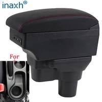 for hyundai solaris armrest for hyundai solaris 2 accent verna car armrest box 2017 2018 2019 2020 storage box car accessories