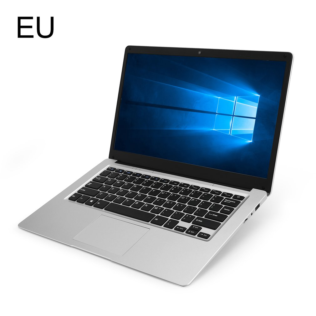 13.3-Inch 3+32GB Four Core Windows 10 Laptop Ips Screen Computer With 4 National Keyboard Films WIFI HDMI-compatible