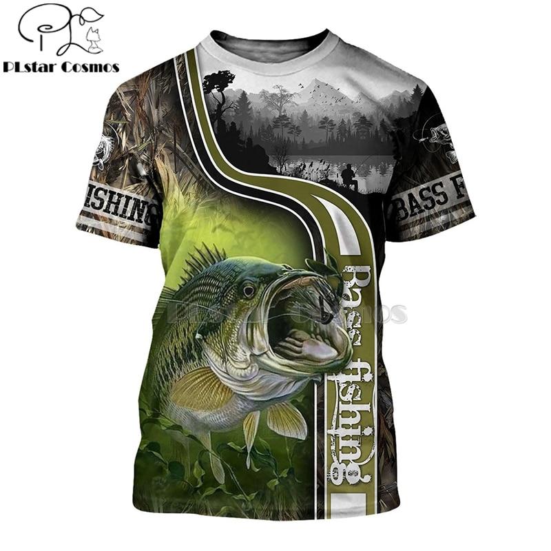 2020 New Fashion Men hoodies 3D Print t shirt New carp Fashion Animal Fishing Art t shirt tees shorts sleeve Apparel Unisex -2