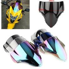 Nova moto Pára/Brisas Preto Para Suzuki GSX GSX1300R 1300R Hayabusa 1999 2000 2001 2002 2003 2004 2005 2006 2007