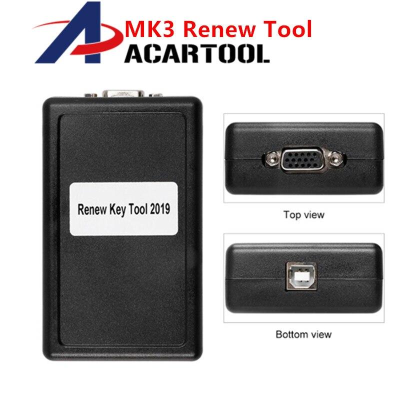 OBD2 Transponder Key Programming Tool MK3 Master Key III With Full Remote Key Unlocking Renew Software Activation