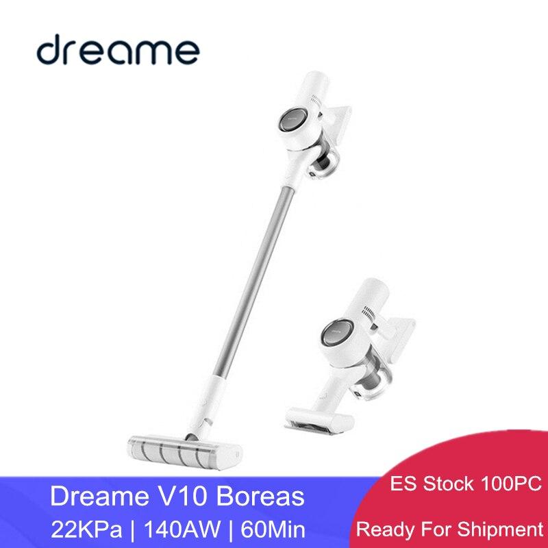 Aspiradora Drame V10 Boreas, colector de polvo de alfombras inalámbrico portátil de mano 22KPa Actualización de V9P por Xiaomi marca Eco