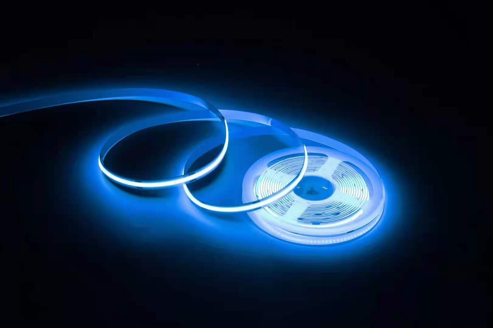 Free Shipping Led Tape Light 24V 14W/M IP20 10mmPCB 768LEDS/M RGB COB LED Strip Led Indoor Light enlarge