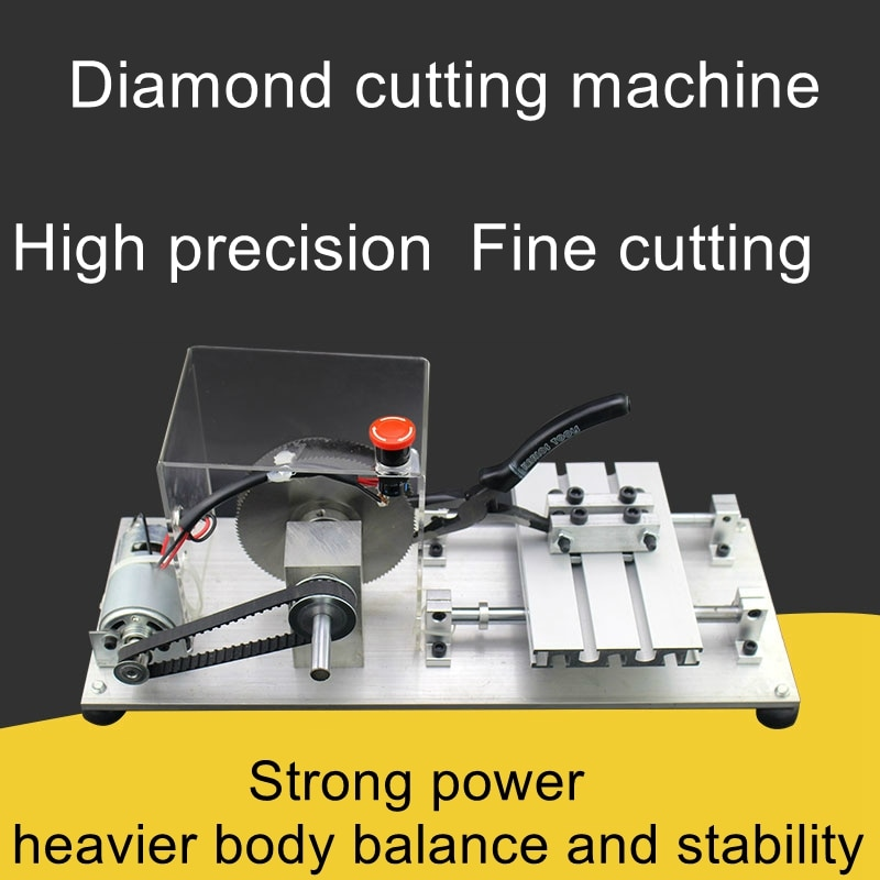 Industrial-grade Tibetan Double Saw Blade Cutting Machine Tibetan Polishing and Polishing Vajra Bodhi Tibetan Lathe