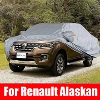 exterior car cover outdoor protection full car covers snow cover sunshade waterproof dustproof for renault alaskan accessories
