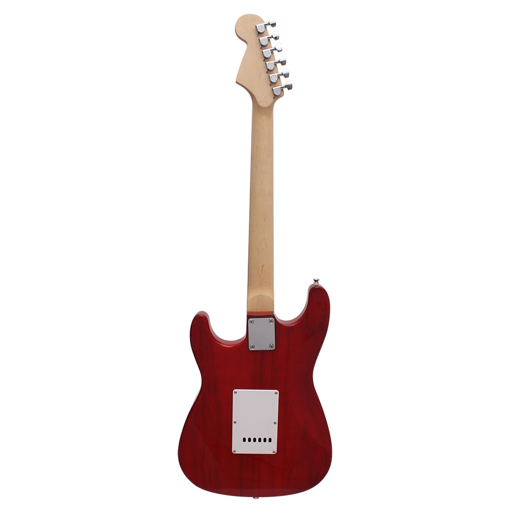 M MBAT 21 Frets Electric Guitar Kit 6 Strings Guitar Solid Wood Body Maple Neck Picks Strap Bag Tuner String Parts Accessories enlarge