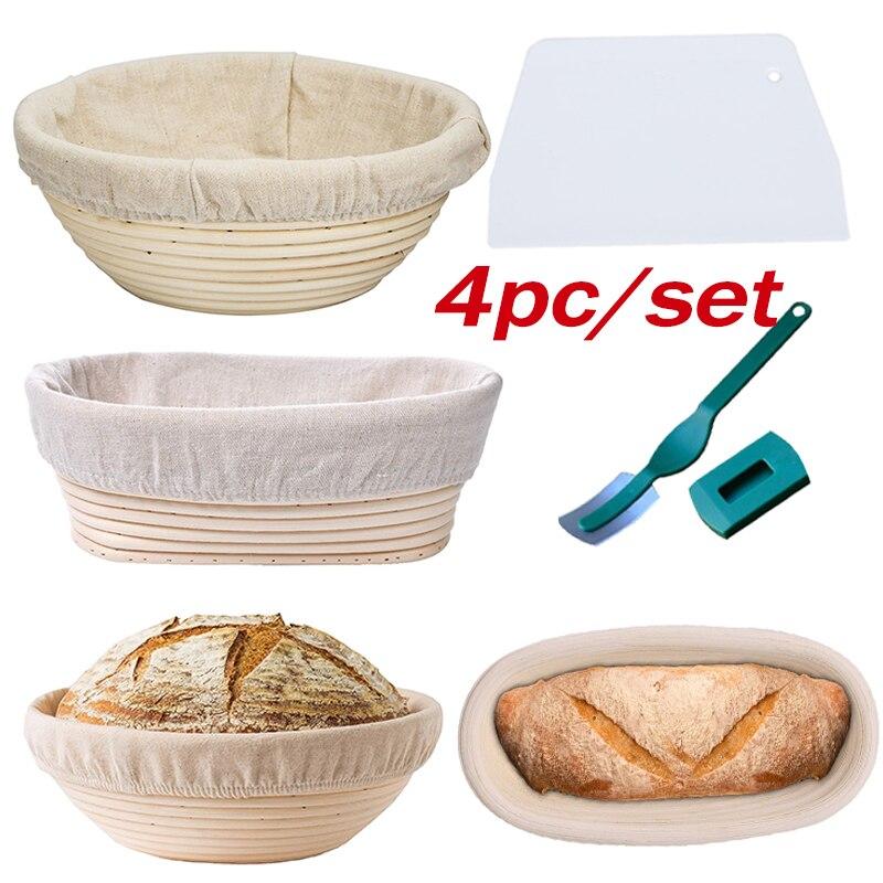 1 Set Brot Proofing Korb-Banneton Proofing Korb-Sourdough Korb Set für Home Bäcker Artisan Brot, Der