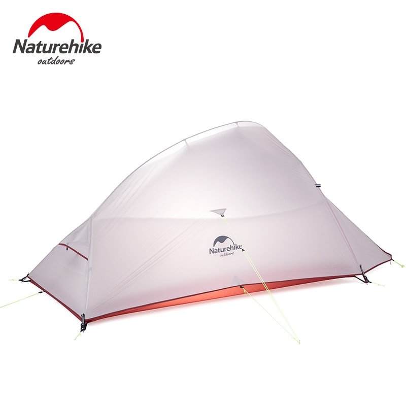 Naturehike Cloud Up UPGRADED Series 1 2 3 Persons camping Tent Backpacking Double-layer Lightweight Tent With Free Mat