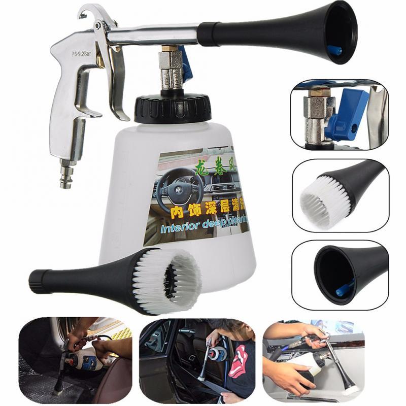 Автомойка для сухой чистки пистолет для удаления пыли автомобильный водяной пистолет для глубокой очистки мойка Tornado внутренний инструмен...