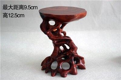 Artesanías de palisandro madera sólida educación superior tallado de raíz Irregular Sección B 02