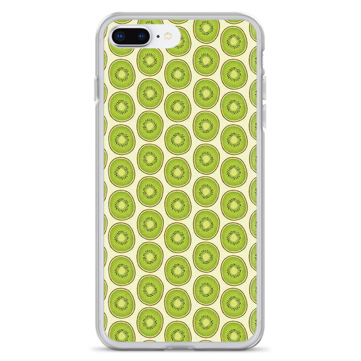 Carcasa de silicona con diseño abstracto verde de Kiwis Fruta de verano para BQ Aquaris C U2 U V X2 X Lite Pro Plus E4.5 M4.5 X5 E5 4G M 2017