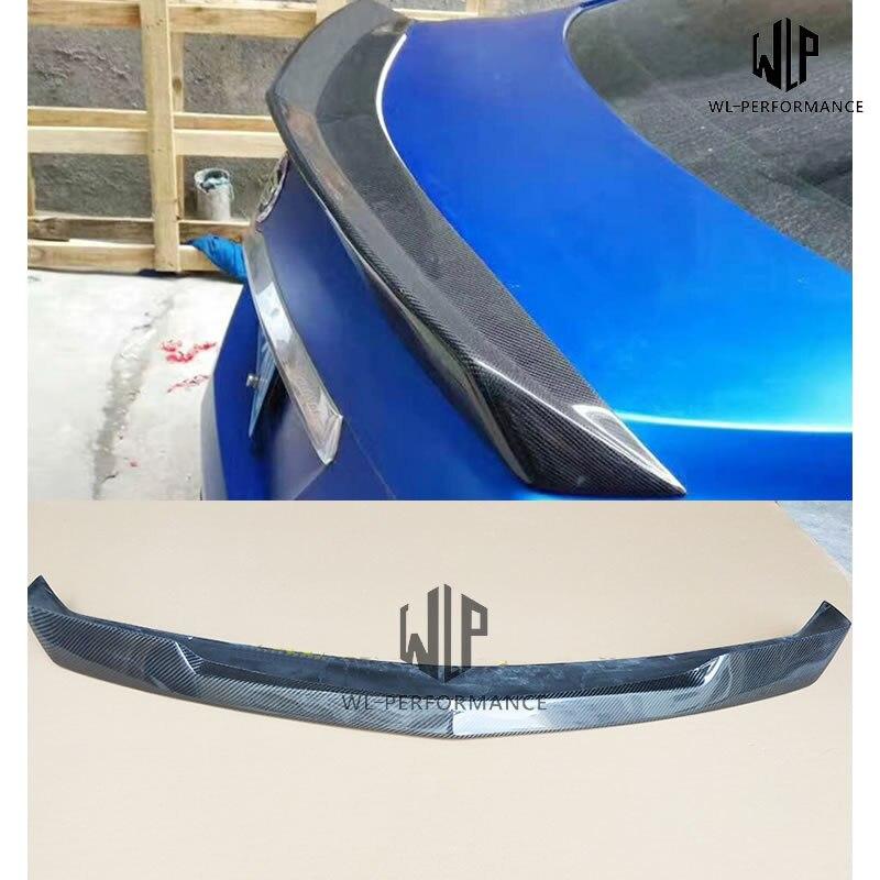 CTS высококачественный карбоновый автомобильный корпусный набор задний спойлер крыло для Cadillac CTS автомобильный Стайлинг 2014