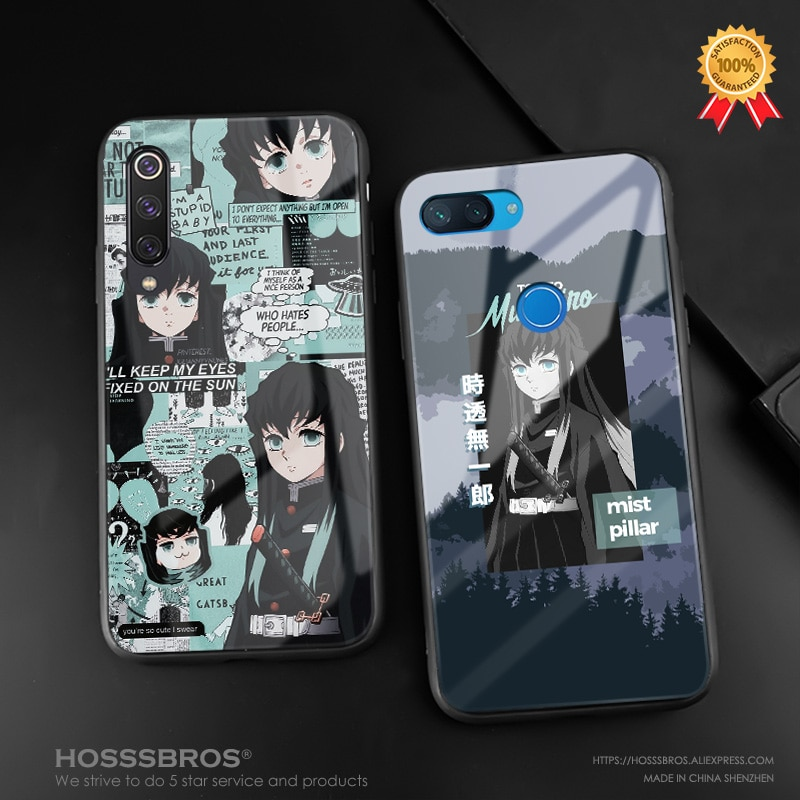 Muichiro Tokito anime para Xiaomi mi 8 9 SE mi x 2 2s 3 Red mi Note 5 6 7 8 Pro funda de silicona suave para teléfono