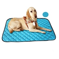dog mat cooling summer mat for dogs cat blanket sofa breathable pet dog bed summer washable ice pad cool silk moisture proof