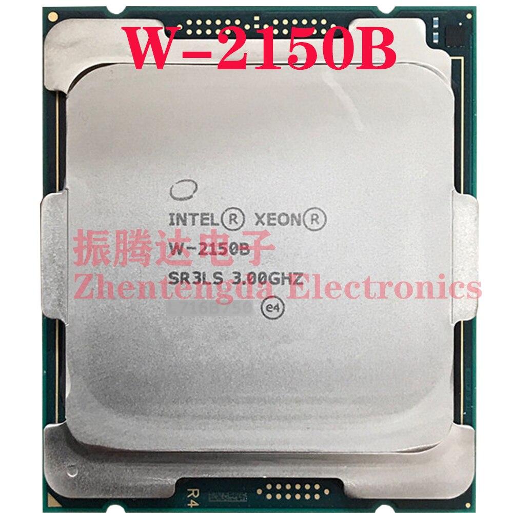 Intel Xeon W-2150B CPU 10 Core 20 Threads  3.0GHz LGA-2066 W-2150B CPU Processor
