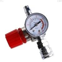 1/4 180PSI Air Compressor Regulator Pressure Switch Control Relief Valve Gauges