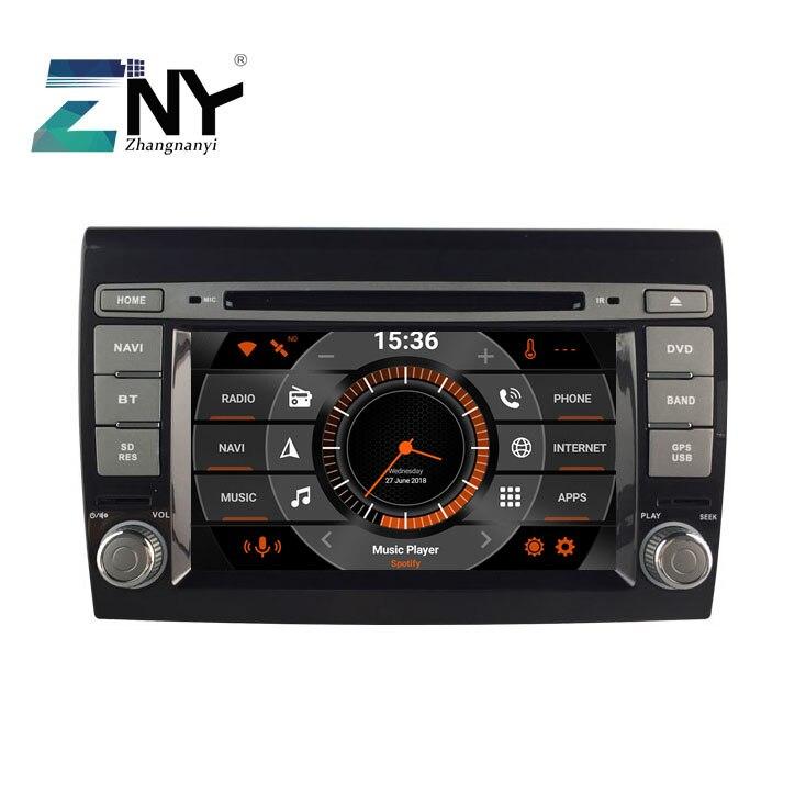 """7 """"android 10 carro gps estéreo para fiat bravo 2007-2012 auto rádio fm dvd navegação wifi bluetooth dsp áudio vídeo câmera traseira"""