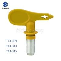 airless tips tt3 309313315 low pressure range airless spray nozzle for low pressure spray gun airbrush tip