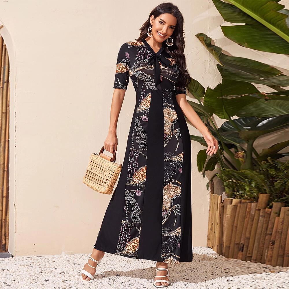 New Fashion Summer Muslim Dubai Abaya Beach European African Dresses For Women Clothing Dubai Caftan Marocain Ramadan Eid Mubara