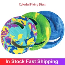 EVA Colorful Flying Discs Water Sports Beach Flying Disc Golf Gravity Disc Boomerang Outdoor Pets Tr