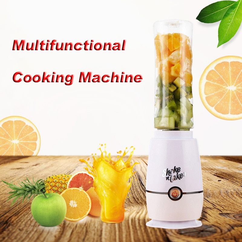 Multifunctional 110V 220V Electric Juicer Portable Household Mini Food Supplement Food Blender 500ml Large Capacity Hot
