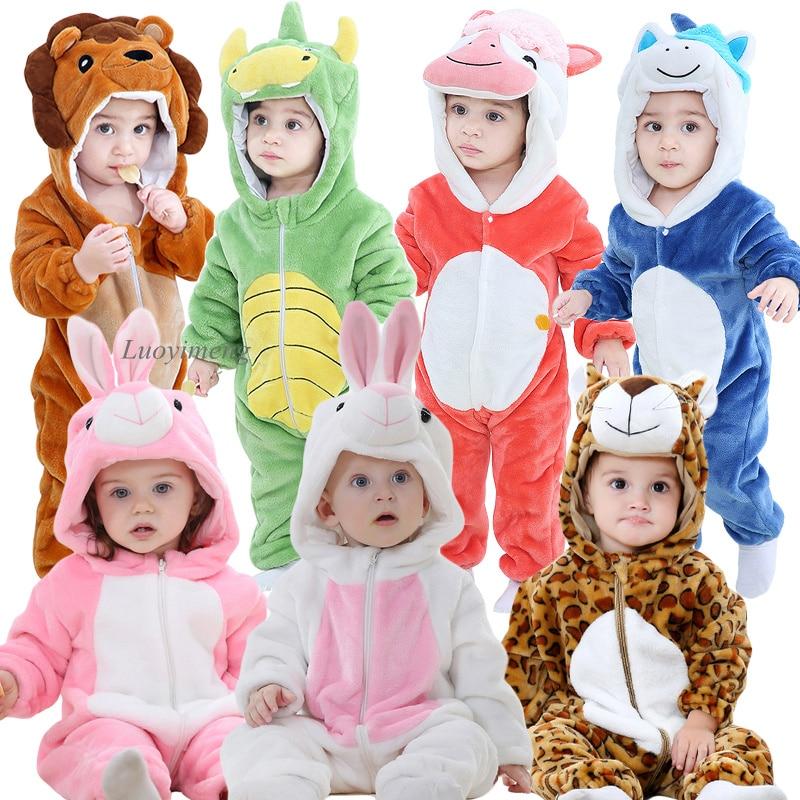 Baby Strampler Neue Geboren Baby Lion Kostüm Overall Infant Onesie Cosplay Kleidung Winter Stich Pyjamas roupas de bebe recém nascido