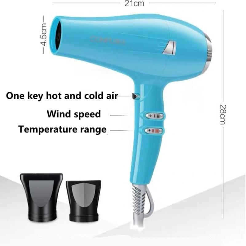 Hot sale CONFU KF5917 hair dryer 2300W high power professional hair salon barber shop household durable lightweight hair dryer enlarge
