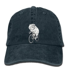 hip hop Baseball caps New Hot Summer  cap Printing Guinea Pig Wheels Biker Bicycle Pet Animal Zoo Hamster Rodent Mouse Rat