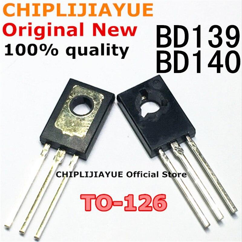 Kit de régulateurs de tension IC, 20 pièces, BD139 BD140 10 paires (10 pièces BD139 + 10 pièces BD140 ) TO126 TO-126, nouveauté,