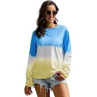 2020 new autumn winter sweatshirt women casual gradient long sleeve 5xl oversized sweatshirt fashion pullover sweatshirt female