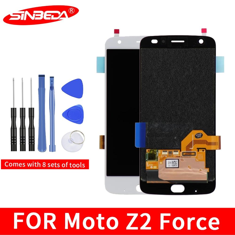 "5,5 ""Original para Motorola MOTO Z2 fuerza XT1789 pantalla LCD Digitalizador de pantalla táctil montar Moto Z2 fuerza pantalla XT1789-05"