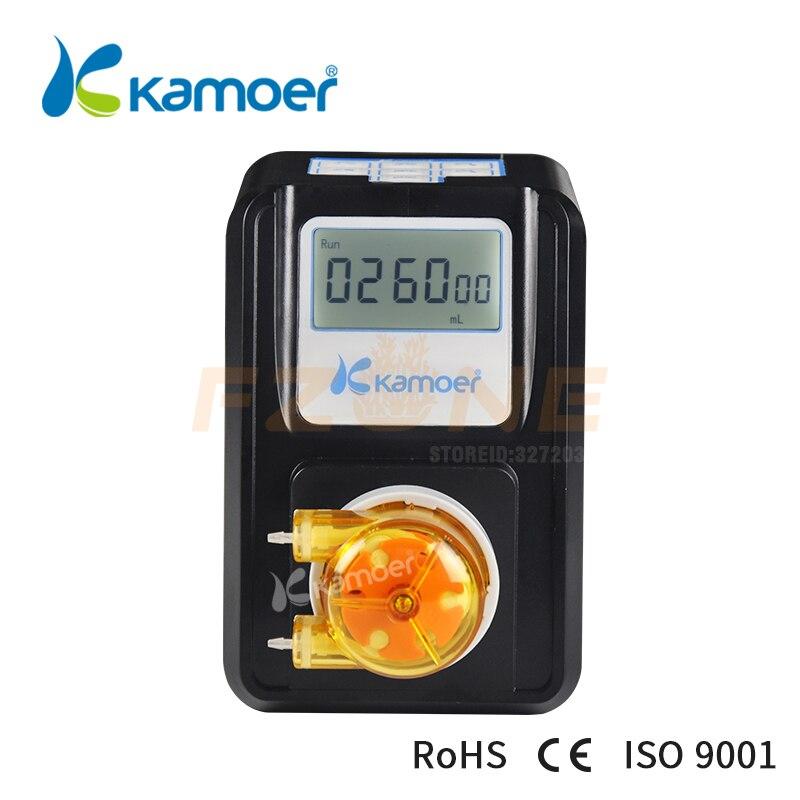 Bomba dosificadora de acuario Kamoer F01A STP 110v ~ 240v máquina dosificadora peristáltica con adaptador de corriente de 24v y Motor paso a paso