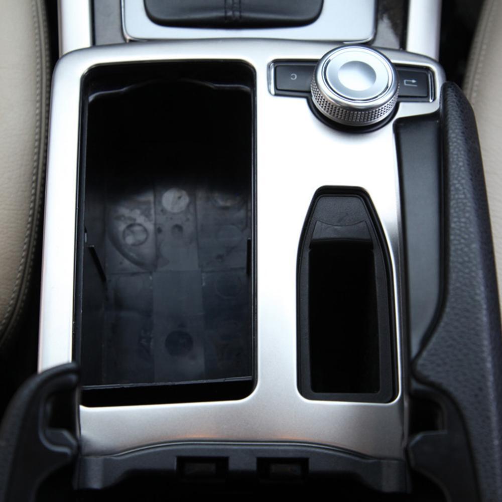 Cubierta del Panel del soporte de la taza del agua derecha del coche marco del Panel del marco del coche para Mercedes Benz Clase C C180 C200 coche-estilo