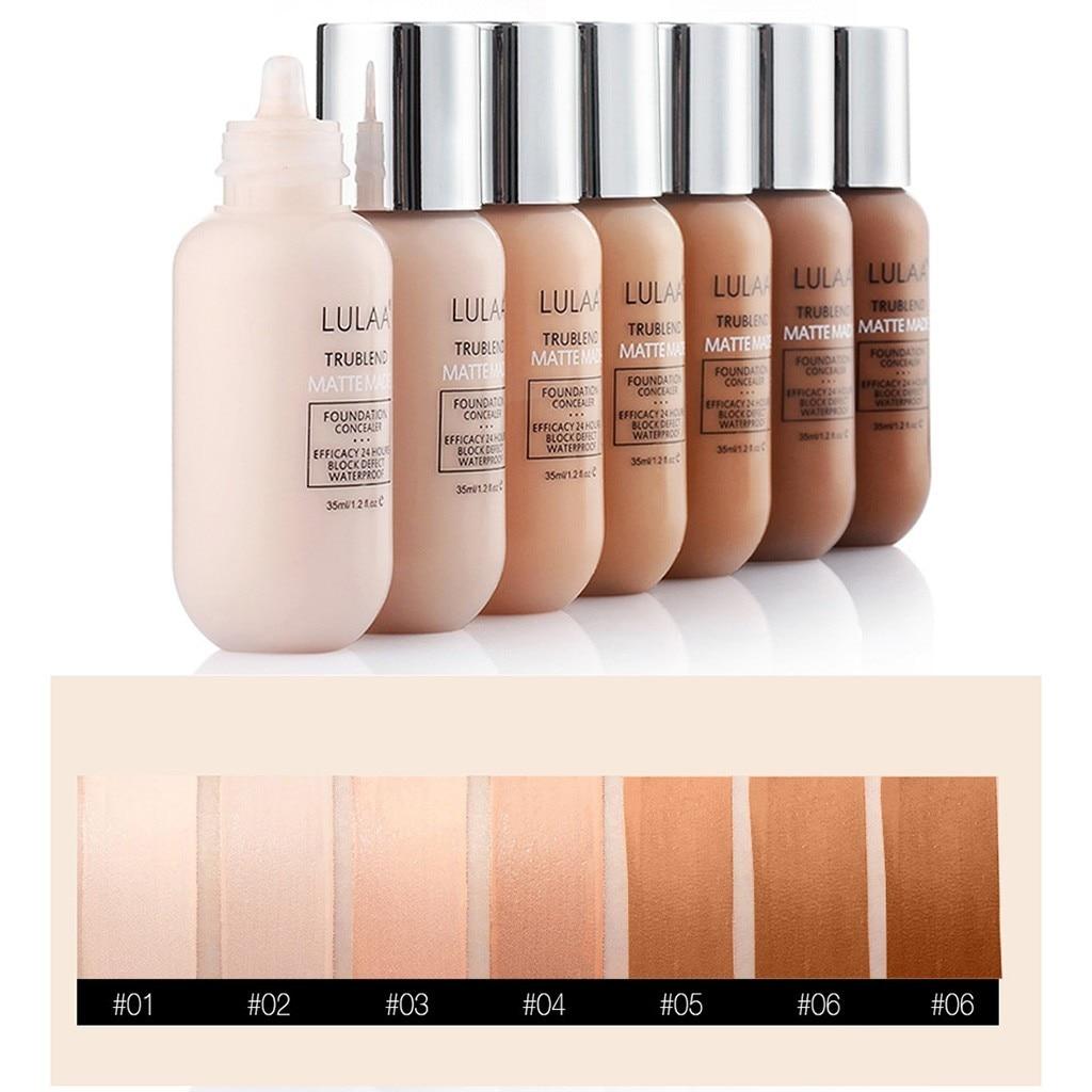 Full Cover Liquid Concealer Makeup Beauty Cosmetics Long Lasting Matte Waterproof Concealer Moisturizing Foundation Cream недорого