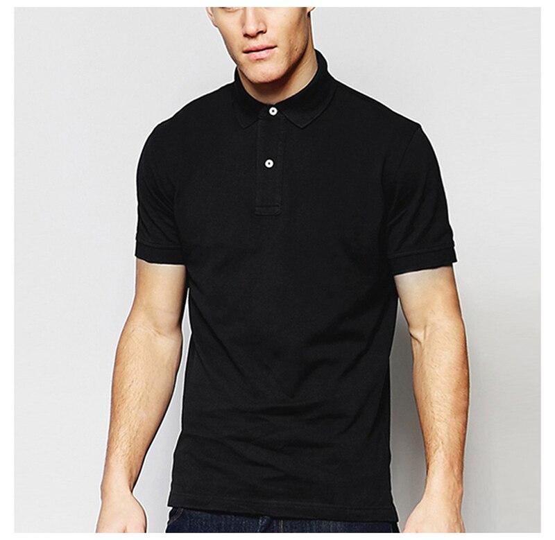 Camiseta de algodón de color liso para hombre, camiseta polo ajustada tommi fit, camisa de manga corta para hombres, camisa masculina de alta calidad para hombre, talla asiática