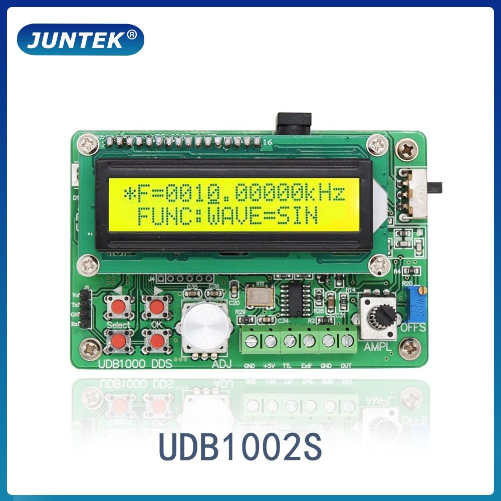 JUNTEK UDB1000S 2MHz  DDS Function Signal Generator frequency meter  Sweep counter