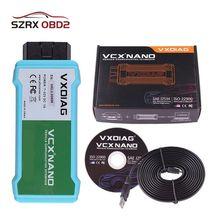 VXDIAG для jsdd LR автомобильные аксессуары OBD2 сканер кода программирования Wifi VCX NANO для Jaguar для Land Rover V159 диагностический инструмент
