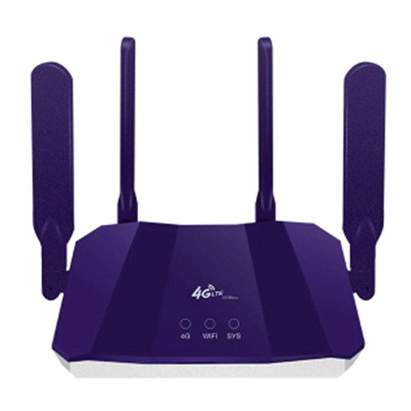 جهاز التوجيه مودم شبكة Wifi ، نقطة الوصول Lte ، نقطة اتصال Cpe المحمول ، هوائي نقطة الوصول في الهواء الطلق ، جسر فتحة للبطاقات Sim