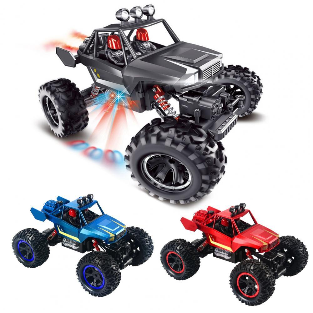 Off-Road Trucks Luminescent Remote Control Toy Car Electric 1/14 Vehicle Model for Kids enlarge