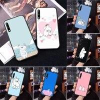moomintroll cute moomines phone case for samsung a71 a80 a91 a01 a02 a11 a12 a21s a31 a32 a20e m10 m11 m20 m30 m31s m21 cover