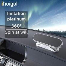 ! ACCEZZ магнитный автомобильный держатель для телефона с поворотом на 360 градусов Магнитный Мобильный Телефон держатель для iPhone 12 11 Samsung Xiaomi Универсальный кронштейн