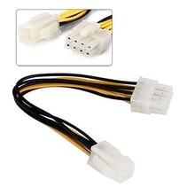 18cm ATX 4 Pin Stecker auf 8 Pin Weibliche EPS Power Kabel Adapter CPU Netzteil Draht Computer kabel