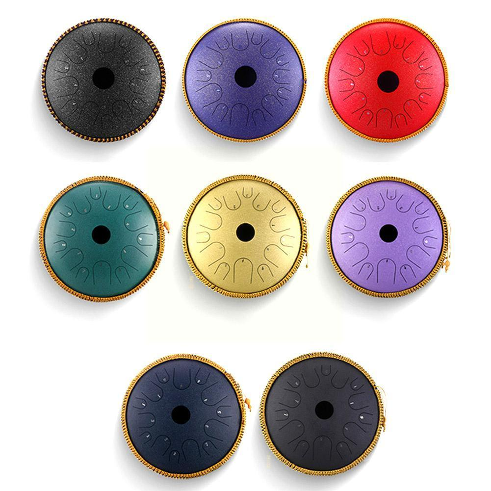 Steel Tongue Drum Durable Hand Drum Carbon Steel Musical Ethereal With Bag Drum Instruments G1F8 enlarge