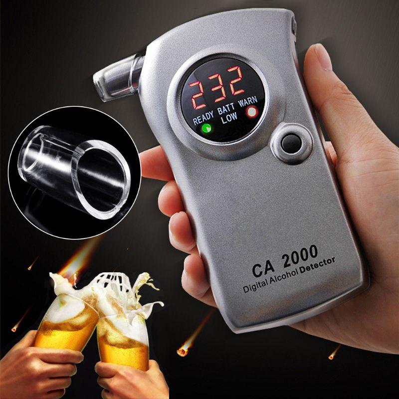 Nuevo 1 pieza probador de Alcohol de respiración boquilla del analizador boquilla de soplado para llavero probador de Alcohol boquilla Accesorios