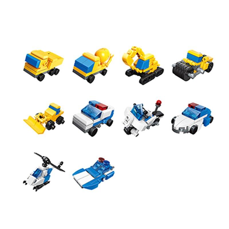 Hipac blocos de construção do motor do carro brinquedos para meninos presentes para crianças blocos de construção figuras técnicas