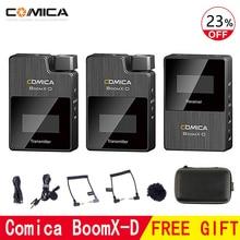 Comica BoomX-D Wireless Microphone Transmitter Kit Mini Microphone Receiver 2.4G Digital for Fimi plam/Snoppa vmate