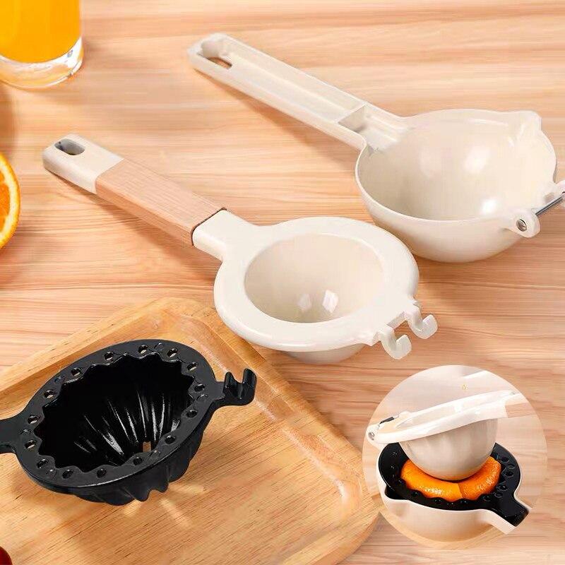 عصارة يدوية ساخنة عصارة الحمضيات سبائك الألومنيوم أدوات مطبخ عملية لفواكه الليمون البرتقال