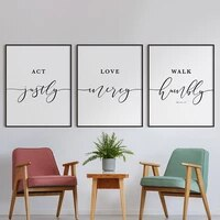 black white bible verse quotes poster wall art canvas painting christian scripture print pictures modern living room home decor